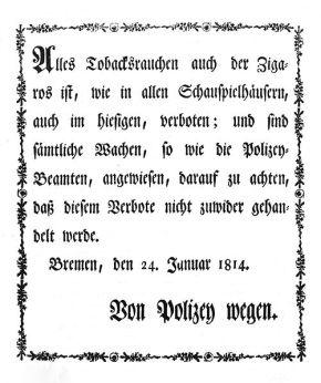 Rauchverbot Bremen