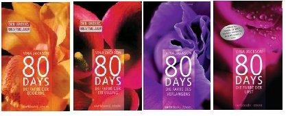 80 Days Teil 1-4 Set