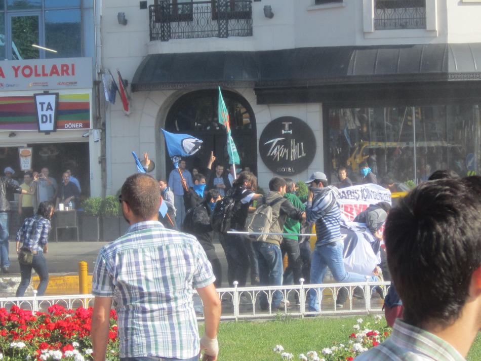 Demo am Taksim Platz