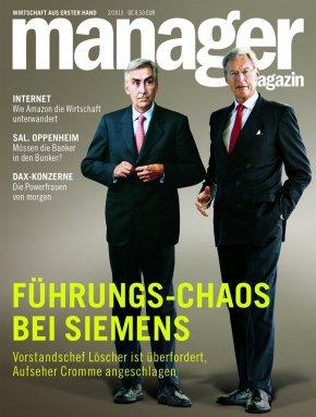 Führungschaos bei Siemens