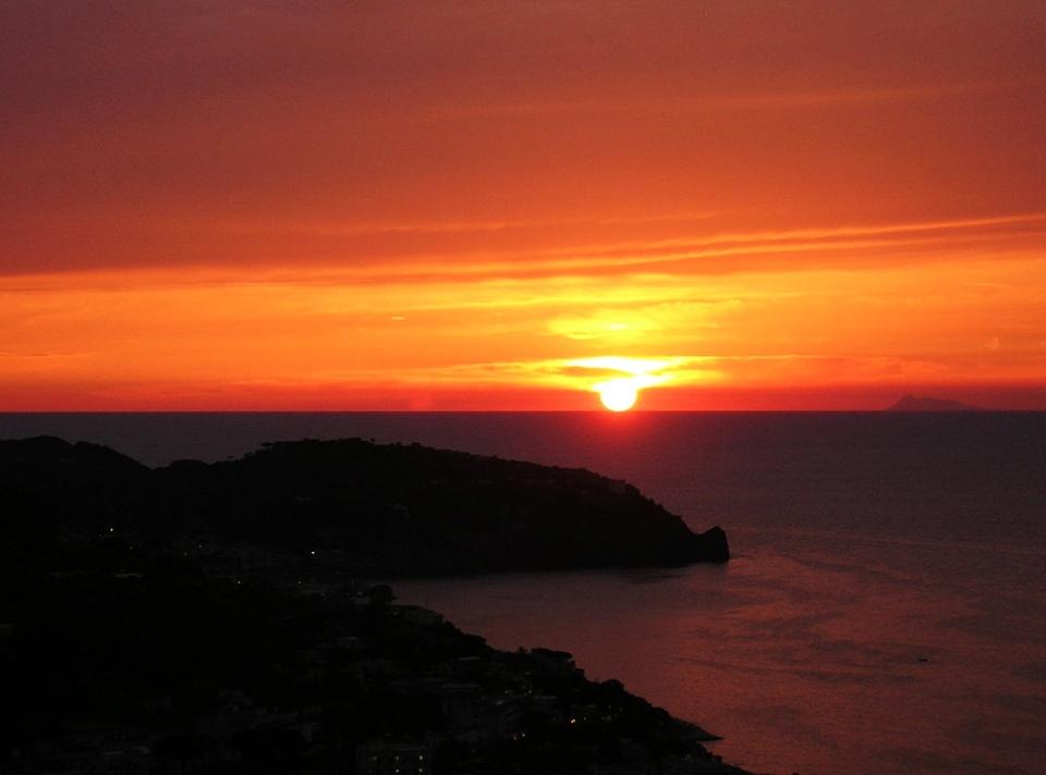 Capri in Italien