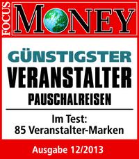 FTI ist Testsieger: Preisvergleich von FOCUS-MONEY