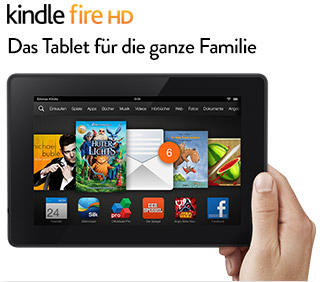 Kindle Fire HD 7-Tablet