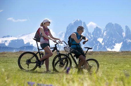 Mountainbike Aktivurlaub in Südtirol