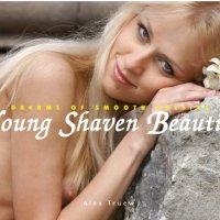 Young Shaven Beauties: Dreams of smooth pussies von Alex Truew. Nach ihrer Intimrasur lassen sich die Modelle von Alex Truew mit orgastischer Schamlosigkeit fotografieren: vorgewölbter Schamhügel, glatte Spalte, luftige Pussy ...