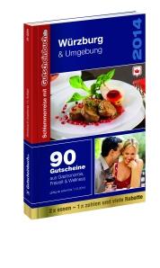 Schlemmerreise mit Gutscheinbuch.de: Gutscheinbuch Würzburg - Freuen Sie sich auf 90 Gutscheine