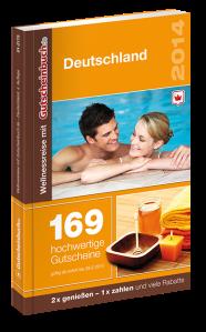 169-mal Wohlfühlen nach Herzenslust: Wellnessreise mit Gutscheinbuch.de 2014: 2für1-Wertgutscheine für Massagen, Thermen, Saunen und Spas...