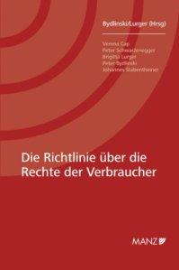 buchperlen-Buchtipp zum Thema: Die Richtlinie über die Rechte der Verbraucher