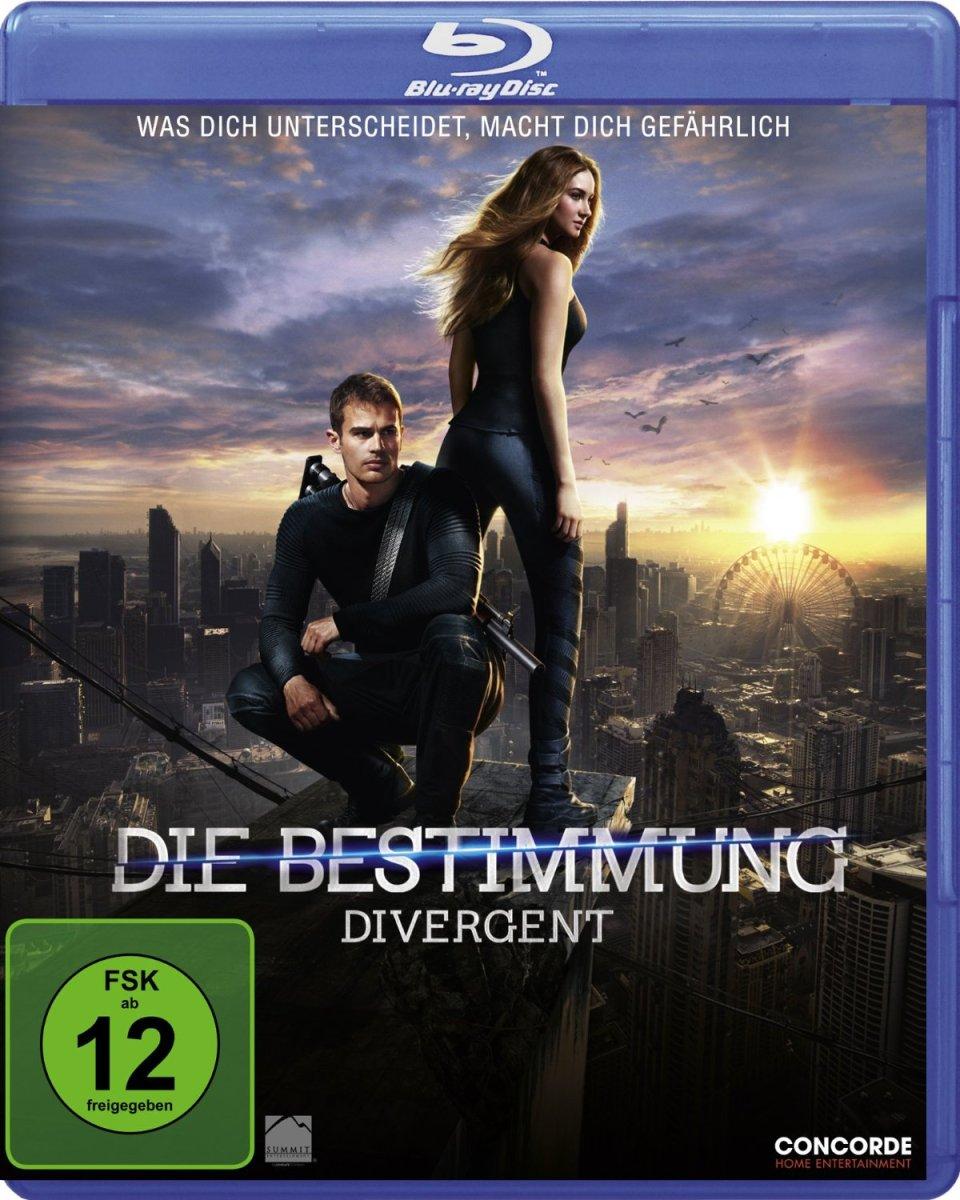 Die Bestimmung - Divergent: Der Film. Die Buchreihe von Veronica Roth. DVD Die Bestimmung jetzt vorbestellen